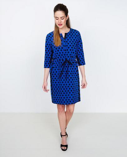 Robe bleu cobalt